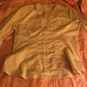 NY&Co fitted blouse